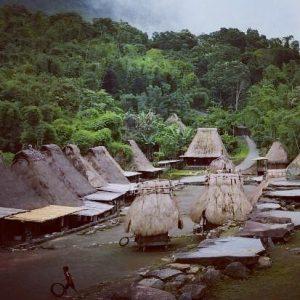 città Bajawa, quartiere Ngada