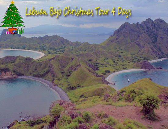 Labuan Bajo Kerstmis Tour in december 2018