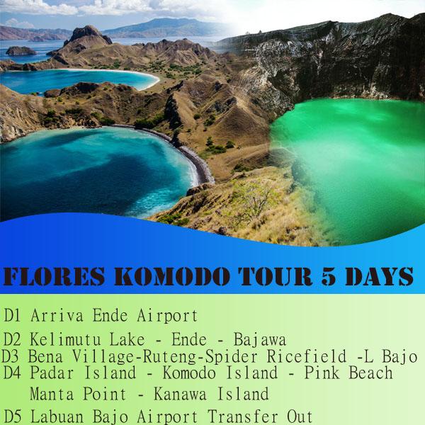 FLORES KOMODO TOUR 5 DAYS