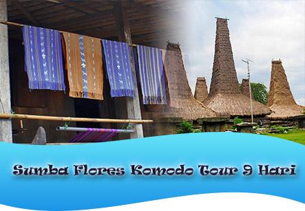 PAKET TOUR SUMBA FLORES KOMODO